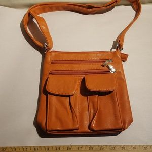 Crossbody Leather purse new without tags